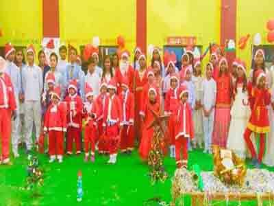 प्रधान पब्लिक सीनियर सेकेंडरी स्कूल में क्रिसमस डे धूमधाम से मनाया गया!
