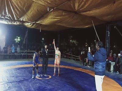 MATHURA : पूजा तोमर ने जीता लगातार पांचवां गोल्ड मेडल