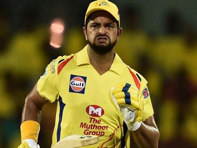 आईपीएल से पहले क्रिकेटर सुरेश रैना वापस भारत लौटे